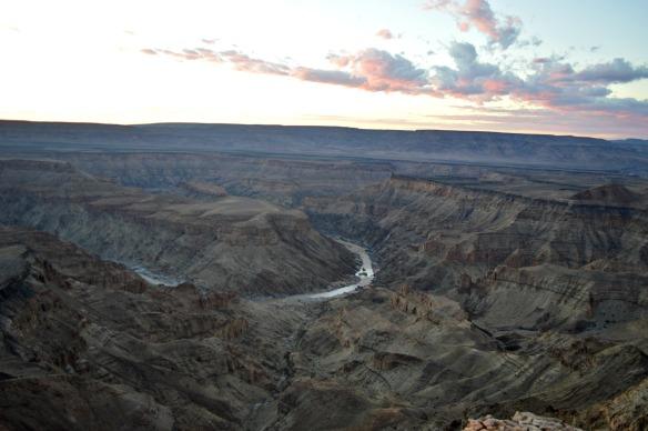 El barranco del Cañón tiene 160 quilómetros