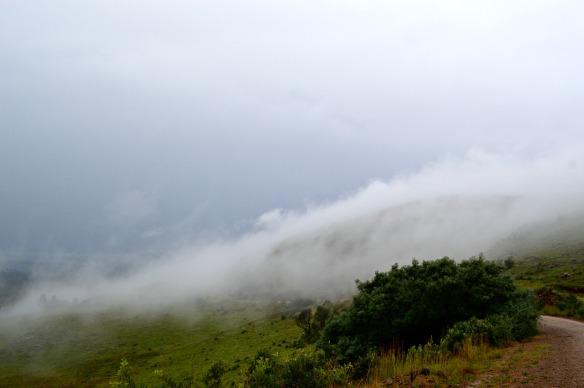 La niebla se aproxima