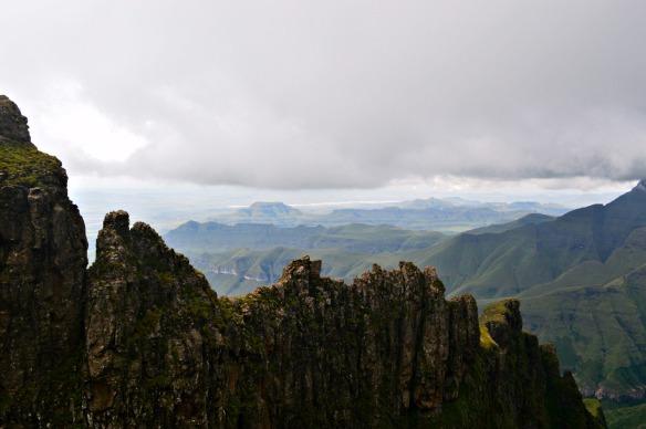 las montañas del dragón