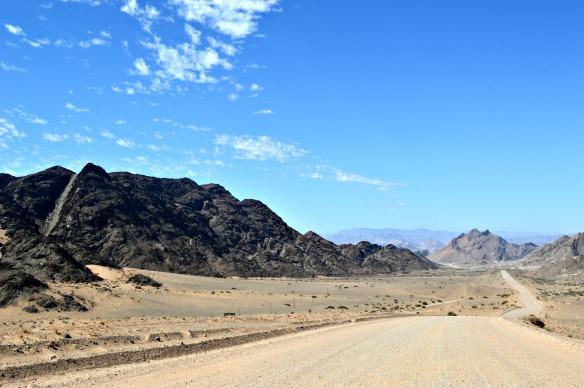 Atravesando el Parque Nacional Sperrgebiet