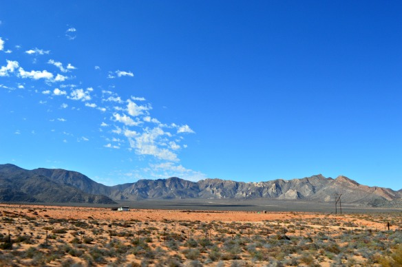 De vez en cuando encontramos algún rancho en los lugares más remotos