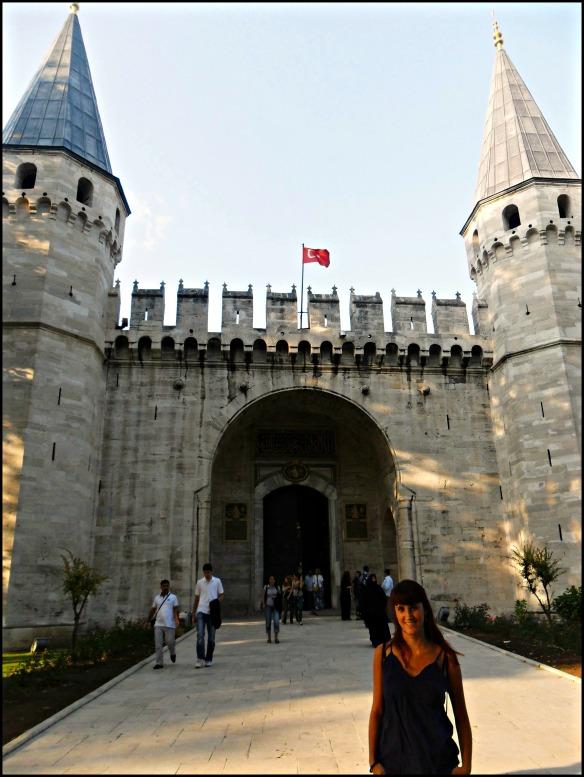 Topkapi Palace Puerta de la acogida